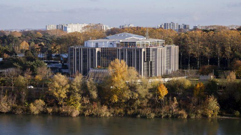 Le siège d'Interpol à Lyon © Tim Douet