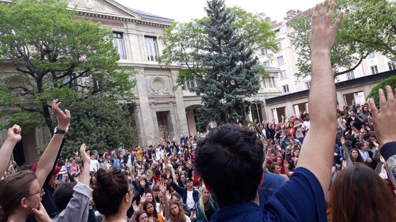 AG à Lyon 2 le 23/04/2018 - © Elie Guckert