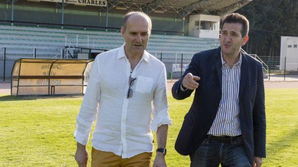 Les coprésidents du Cascol Football, Kamel Aït-Mahiout et Joël Montet © Tim Douet