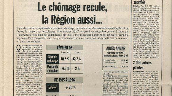 Lyon Capitale N°167 du 15 au 21 avril 1998