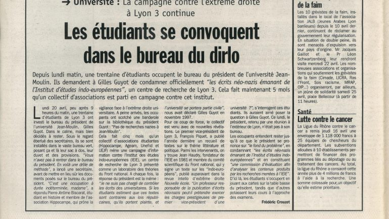 Lyon Capitale N°168 du 22 au 28 avril 1998 p.4