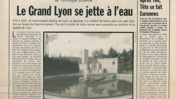 Lyon Capitale N°166 du 8 au 14 avril 1998