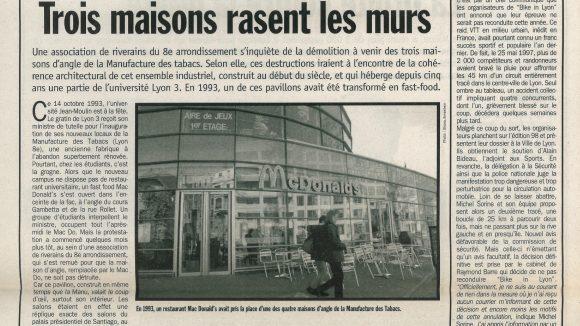 Lyon Capitale N°168 du 22 au 28 avril 1998 p.8