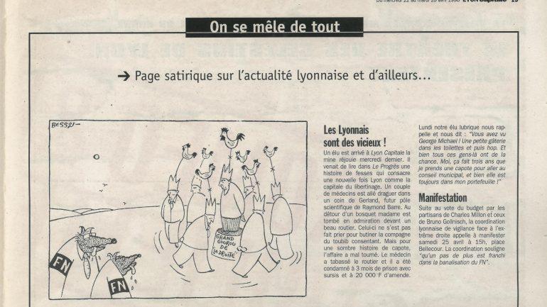 Lyon Capitale N°168 du 22 au 28 avril 1998 p.19