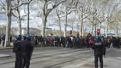 Manifestation étudiante quai Claude Bernard