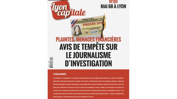 Une du mensuel Lyon Capitale de mai 2018 (777)