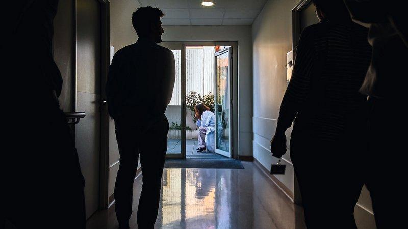 Dans une unité psychiatrique lyonnaise © Tim Douet