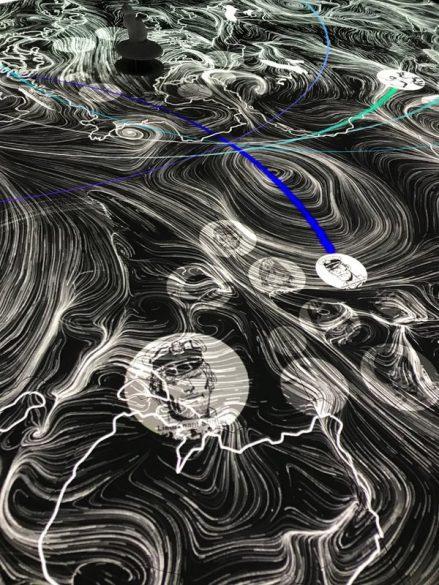 La carte interactive des périples d'Hugo Pratt © Manon Heckmann