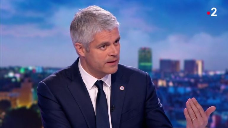 Laurent Wauquiez au 20H de France 2 le 16/04/18