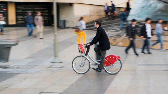 Vélo'v à Lyon © Tim Douet