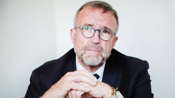 Étienne Blanc, au conseil régional, en mai 2018 © Tim Douet