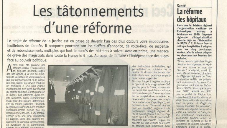 Lyon Capitale N°169 du 29 avril au 5 mai 1998 p13