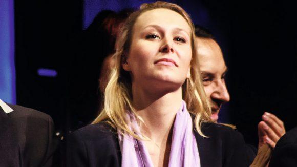 Marion Maréchal-Le Pen, aux Assises du FN, en février 2017, à Lyon © Tim Douet
