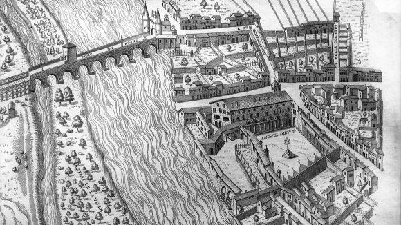Le plan scénographique de Lyon (1550)