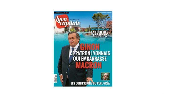 Lyon Capitale n°778, juin 2018 – la une