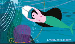 Détail de l'affiche du festival Lyon BD 2018 © Pénélope Bagieu