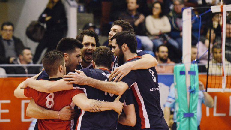 L'équipe de volley de l'Asul © DR