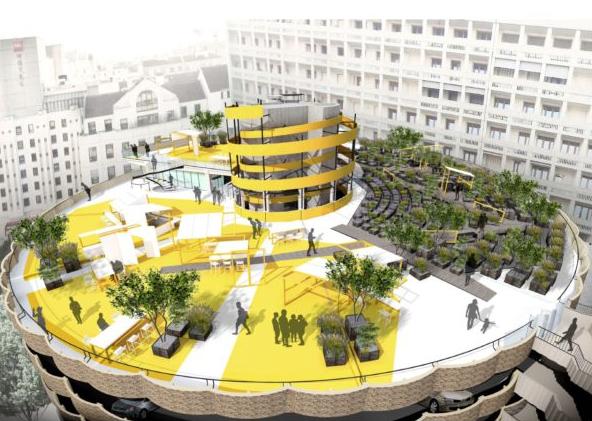 Un Nouveau Rooftop Au Sommet Des Halles Bocuse