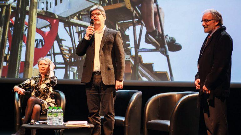 Dominique Delorme lors de la présentation des Nuits de Fourvière 2016 ©Tim Douet