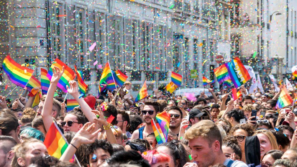 à la Gay Pride