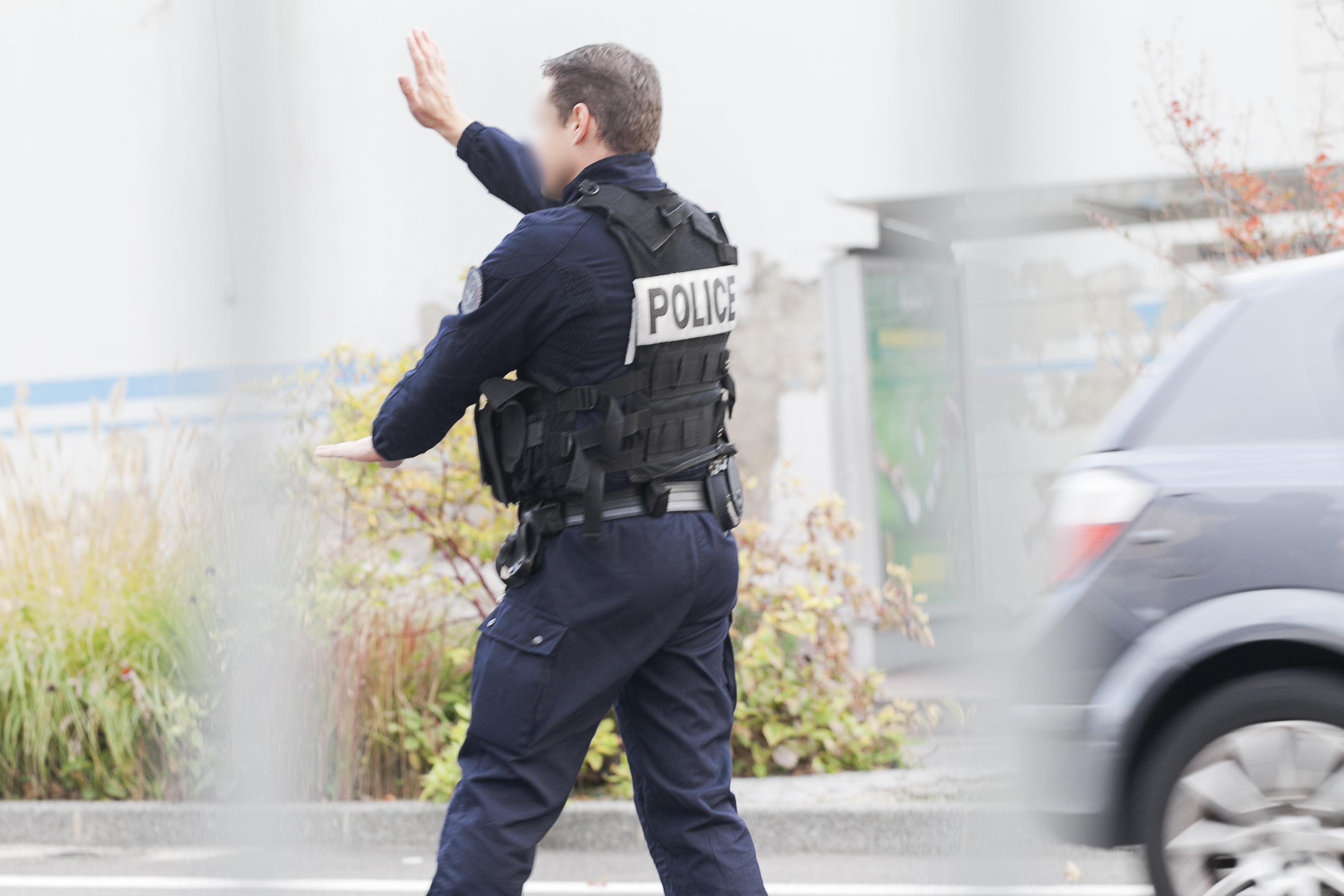 Lyon : nombreuses voitures de police à la Doua jeudi : c'est un exercice !