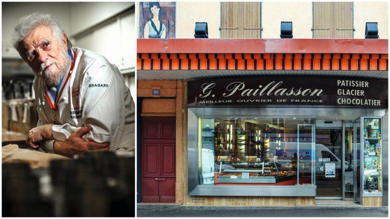 Gabriel Paillasson et sa pâtisserie à Saint-Fons © Tim Douet (montage LC)