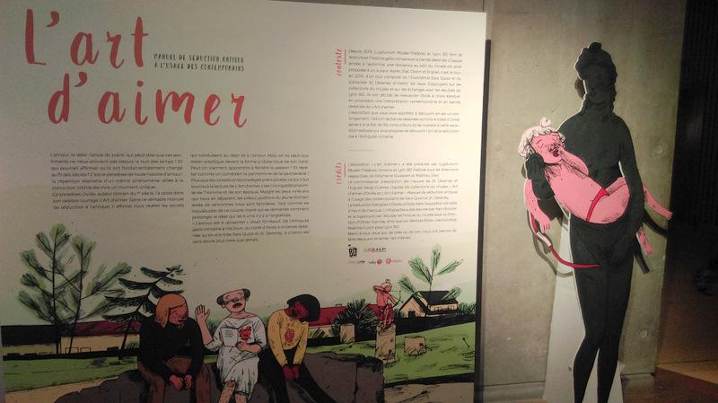 Vue de l'expo au musée Lugdunum