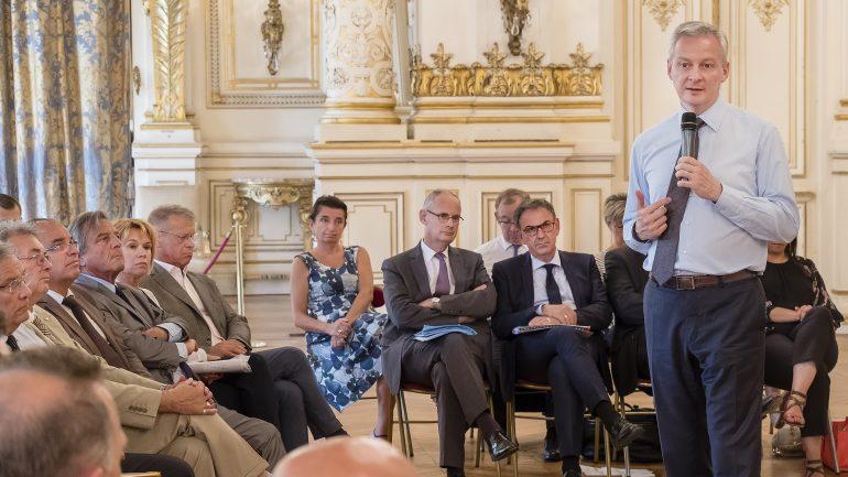 Bruno Le Maire, ministre de l'Économie et des Finances © Tim Douet