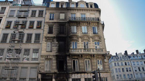 Incendie place des Jacobins