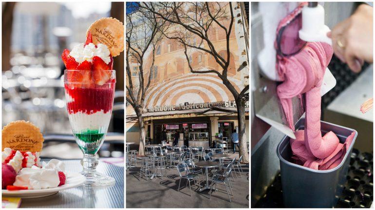 Nardone, une terrasse et des crèmes glacées © Tim Douet (montage LC)