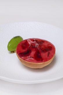 L'un des desserts mutins de Nicolas Seibold ©Tim Douet