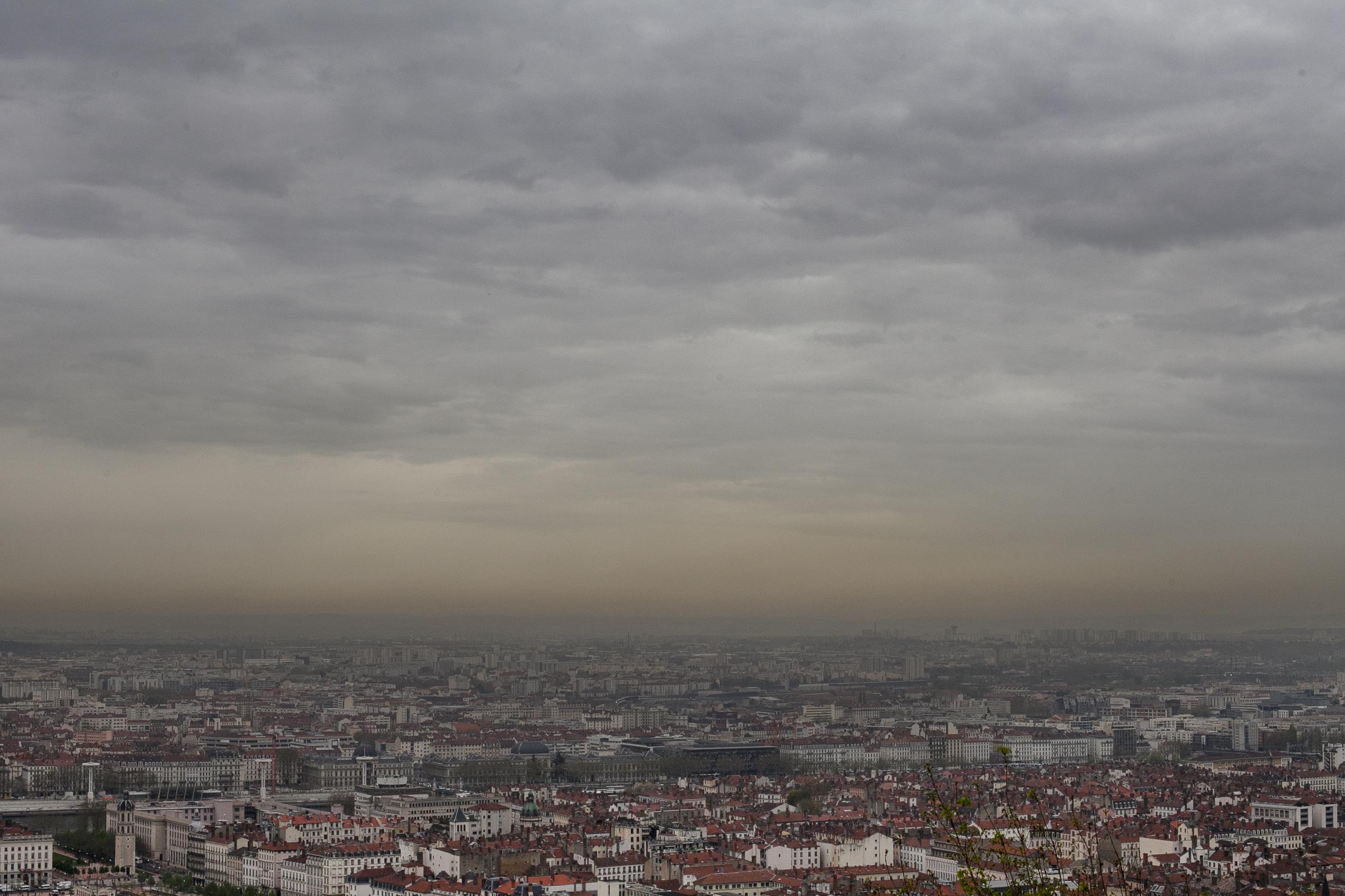 Pic de pollution : Lyon toujours en vigilance rouge