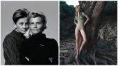 Sophie Boulhaut, Anne Schulz et un des modèles de leur ligne de bain anti-UV, Miel Melba © DR