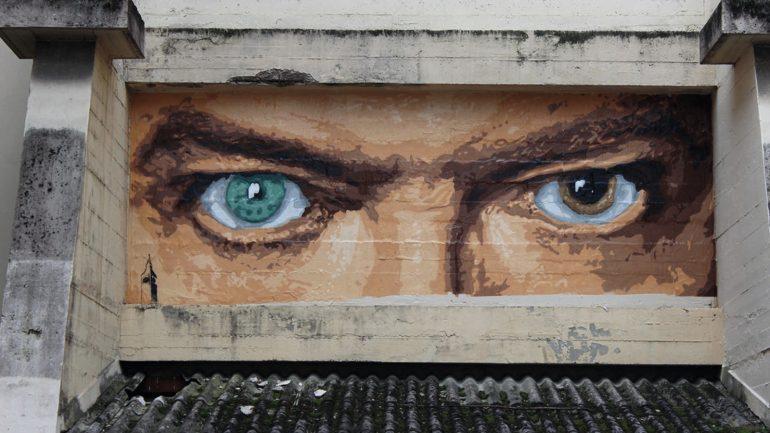 Big Ben – Bowie, quelque part à la Croix-Rousse © DR