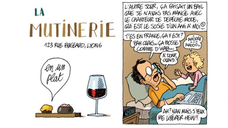 Chronique dessinée de Guillaume Long – image de une © Lyon Capitale n°781