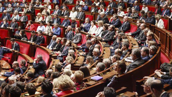 Députés du Rhône à l'Assemblée nationale en 2017 © Tim Douet