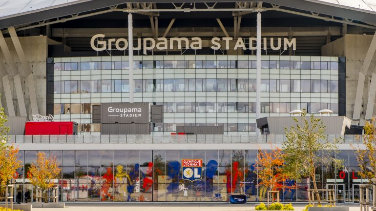 Entre Du Groupama Stadium Dcines C Tim Douet