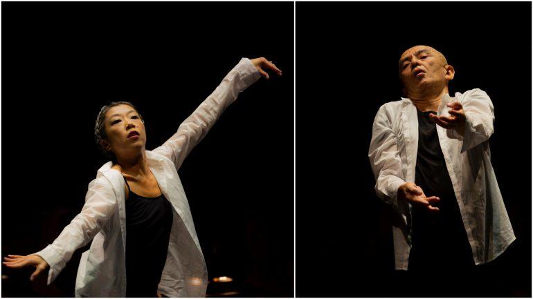 Symphonie fantastique – Chorégraphie Saburo Teshigawara, création Biennale de la danse 2018, à l'Auditorium de Lyon © Michel Cavalca (montage LC)