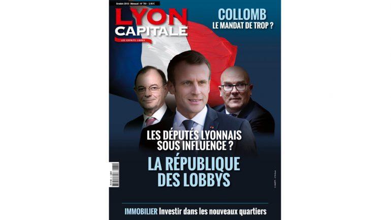 Lyon Capitale n°781 – Octobre 2018 (une)