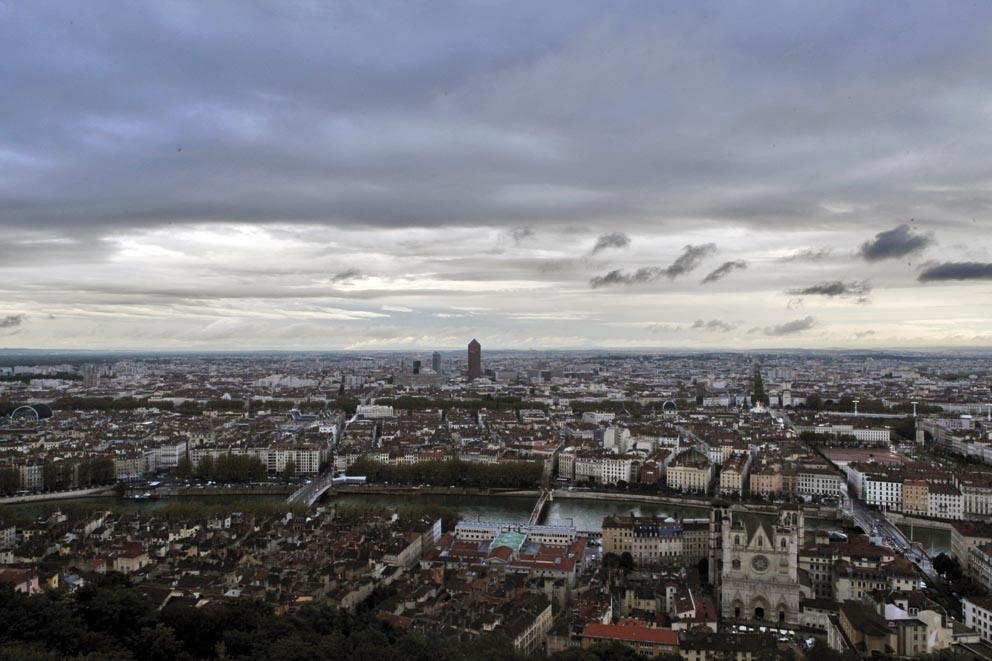 Pollution à Lyon : le temps agité, la qualité de l'air bonne
