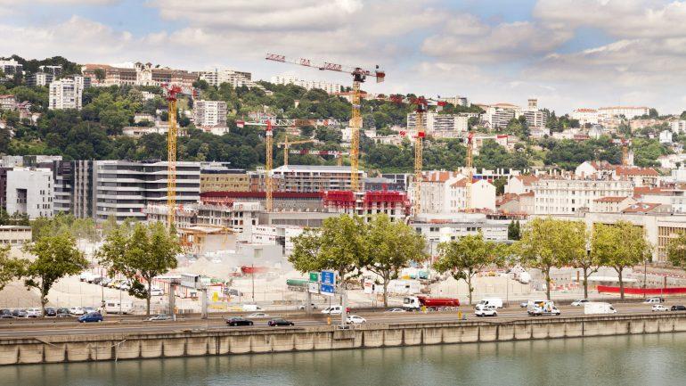 Chantier de la 2e phase de la Confluence – Lyon, juillet 2016 © Tim Douet