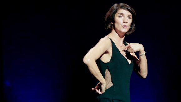 "Florence Foresti en 2014 dans ""Madame Foresti""© DR"