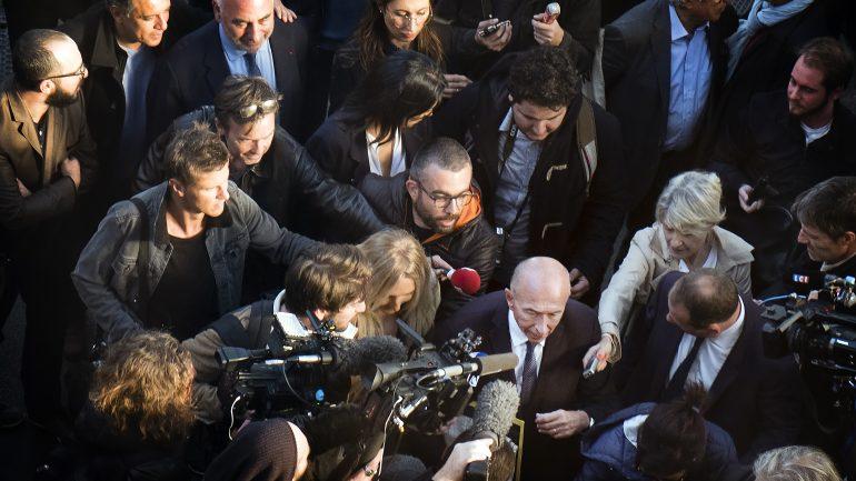 Gérard Collomb de retour à Lyon après sa démission © Tim Douet