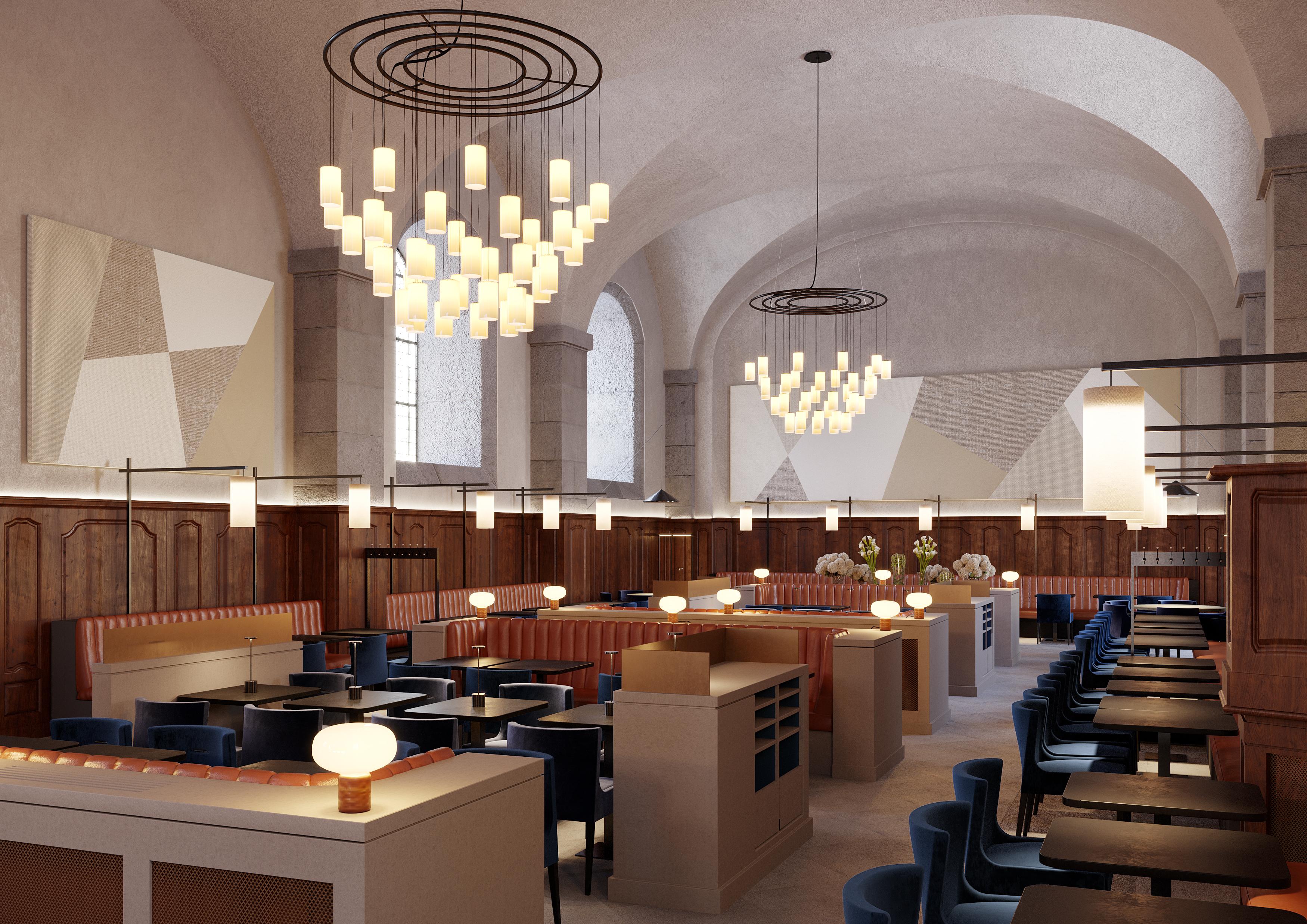 Grand Réfectoire de l'Hôtel-Dieu (simulation 3D)