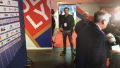 Michael Peeters lors d'une conférence de presse de Bruno Genesio à Décines © Razik Brikh