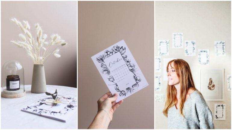 Articles et créatrice de la marque lyonnaise Phileas Handmade © Tim Douet (montage LC)