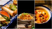 Plats à la carte du restaurant thaï Piment & Citronnelle © Tim Douet