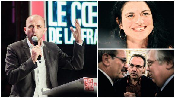 Jean-François Debat (PS) / Nathalie Perrin-Gilbert / Pierre Hémon (EELV) © Tim Douet
