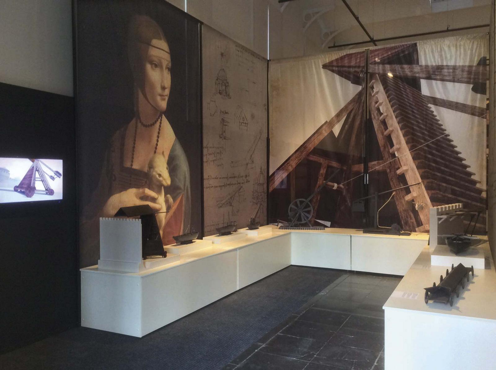 Da Vinci – Les inventions d'un génie (vue de l'exposition) © DR
