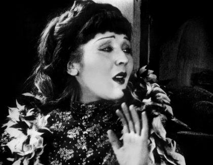 "Catherine Hessling dans ""Nana"" de Jean Renoir (1926) © DR"